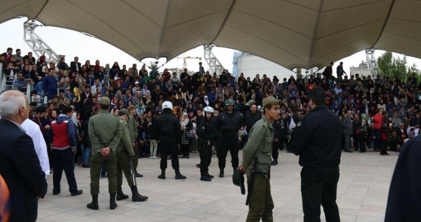 جلوگیری از برگزاری جشن سلام مازندرانی ها در بوستان آب و آتش
