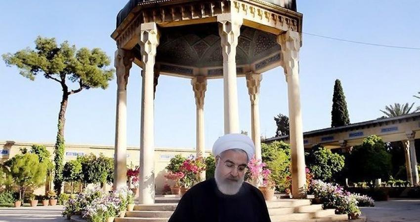 دیدار رییس جمهور از حافظیه و سعدیه در شیراز