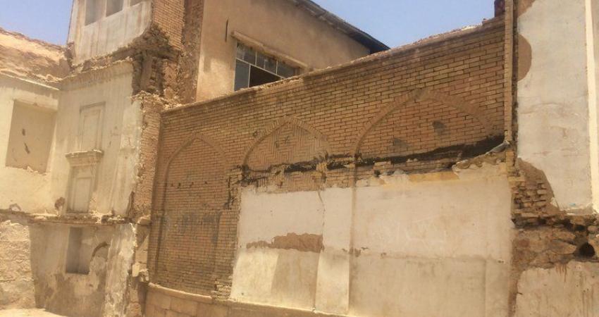 تخریب در بافت اسکندریه شیراز