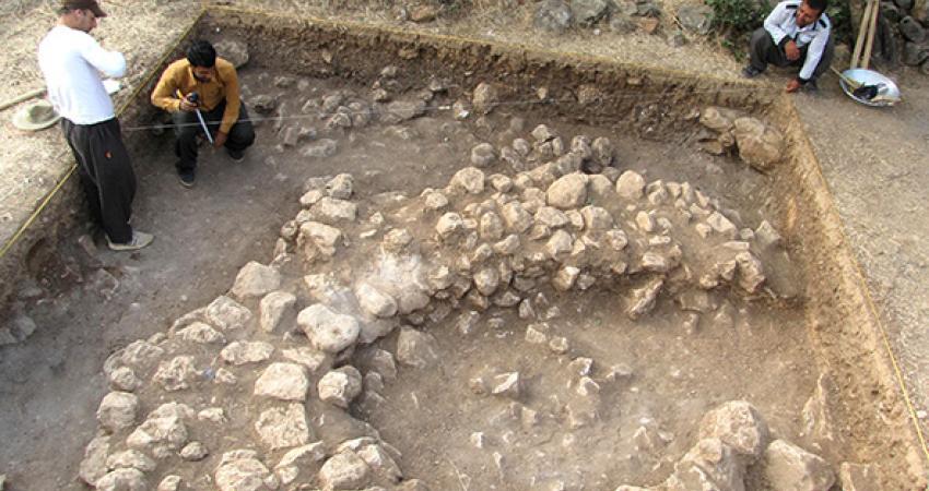 کشف آثار معماری سنگ چین در اورامان