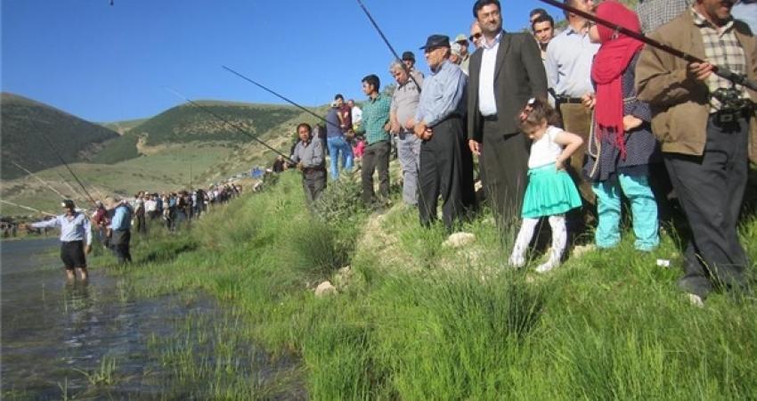 جشنواره ماهیگیری با تک قلاب در فینارود خلخال