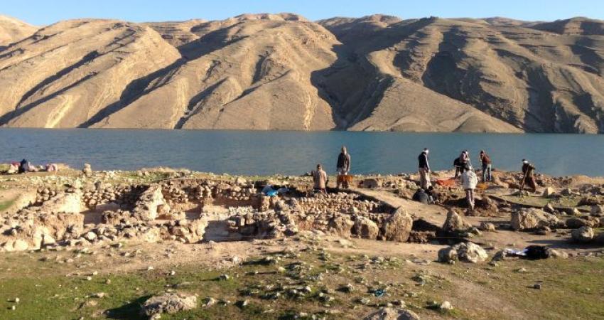تشکیل نمایشگاه دستاوردهای باستان شناسی در محوطه سد سیمره
