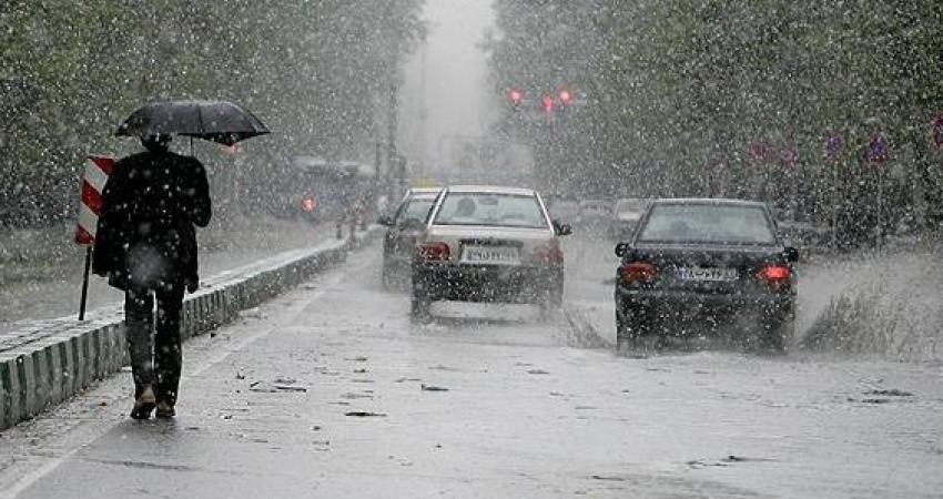 احتمال بارش باران در ارتفاعات تهران