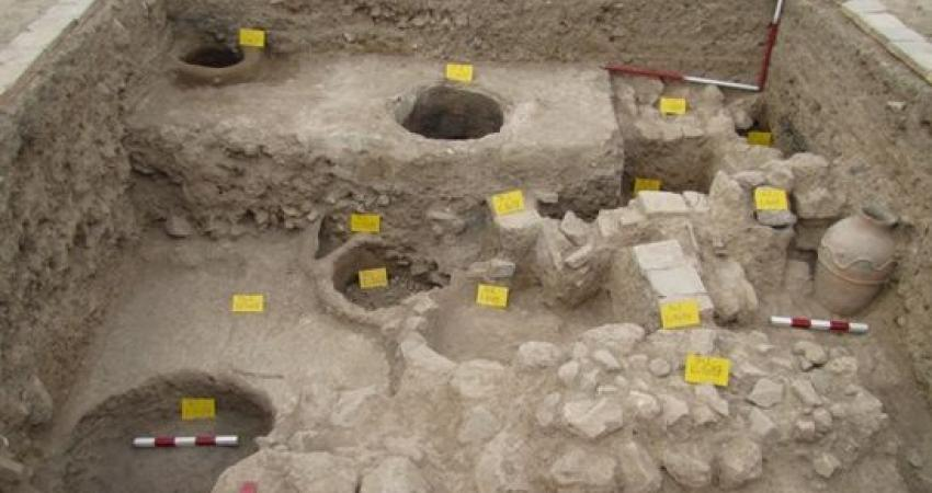 کشف سازه ای عظیم در حوالی بنای چلپی اوغلی سلطانیه