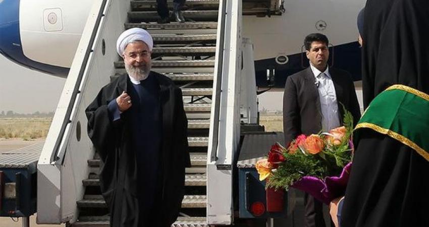 رییس جمهور وارد کردستان شد