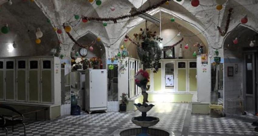 کشف سه لایه  تاریخی در حمام میرزا کریم قزوین