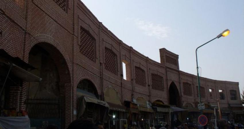 بازنگری حریم و حفاظت از بازار تاریخی ارومیه ضروری است