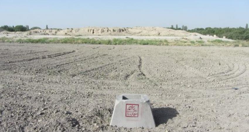 ساخت ویلا در محوطه تاریخی عصر آهن