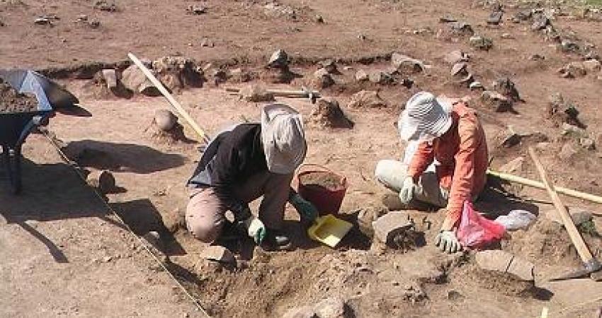 کشف نشانه هایی از سکونتگاه  9 هزار ساله در بهبهان