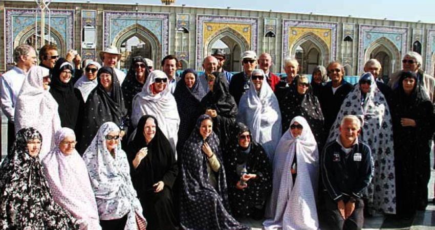 """نظر گردشگر آمریکایی درباره """"حجاب"""" ایرانی ها"""