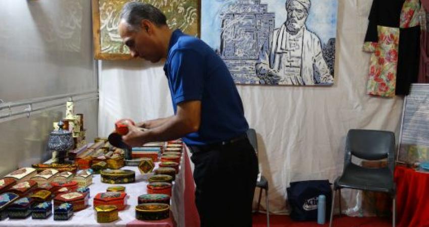 ششمین نمایشگاه سراسری صنایع دستی در مشهد آغاز به کار کرد