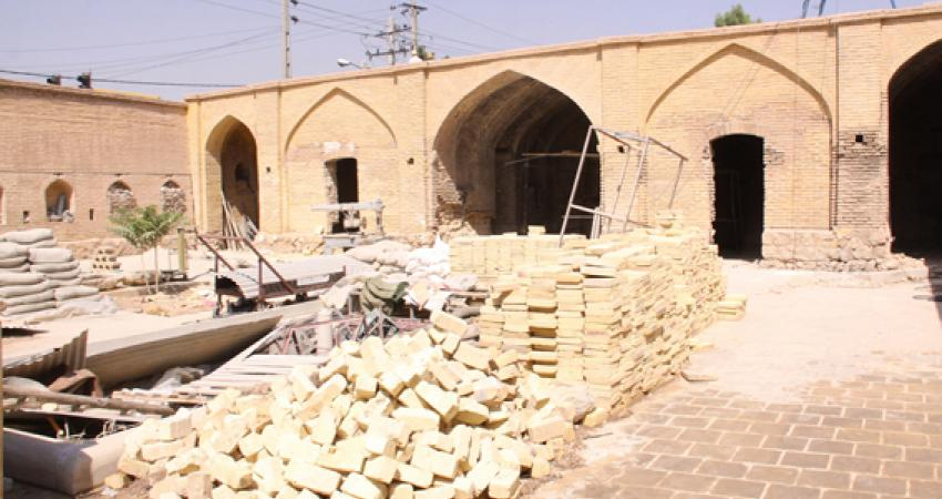 مرمتگران شیراز به موزه هفت تنان رفتند