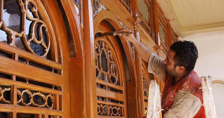 دو خانه قاجاری شیراز در حال مرمت است
