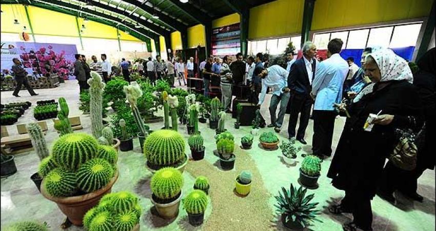 چهارمین نمایشگاه گل و گیاه در کرج افتتاح شد