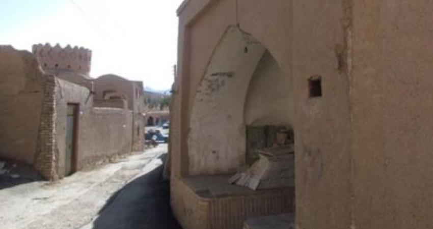 ثبت مسجد حسن زغالی ندوشن در فهرست آثار ملی
