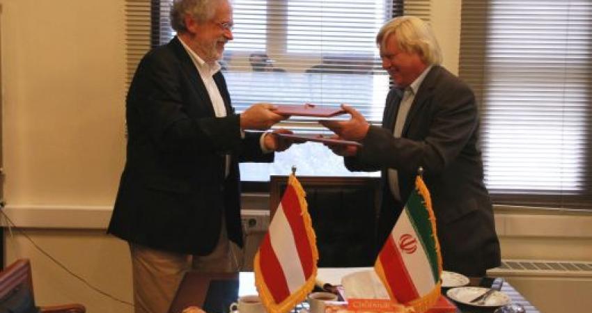 ایران و اتریش در زمینه باستان شناسی تفاهم نامه امضا کردند
