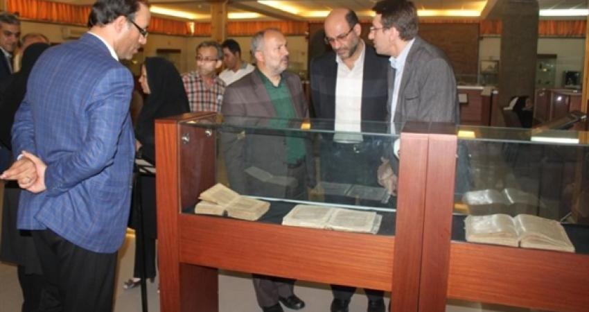 افتتاح اولین نمایشگاه نسخ خطی و البسه قاجاردر موزه های ارومیه