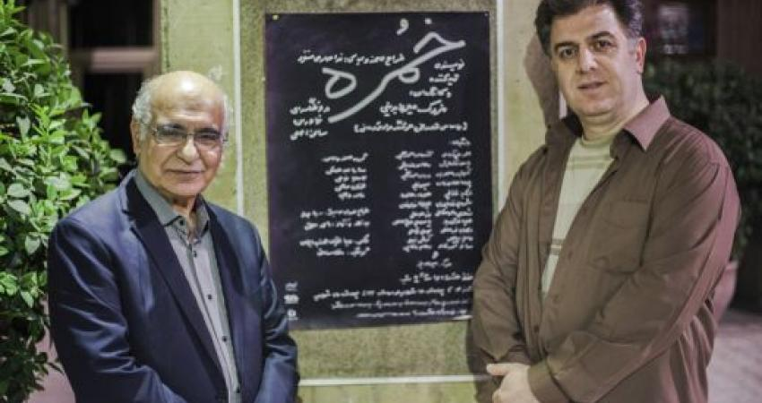 جشن تولد هوشنگ مرادی کرمانی در نیاوران