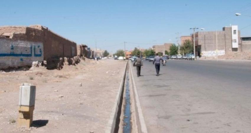 خیابان کشی در محوطه تپه تاریخی دامغانی سبزوار