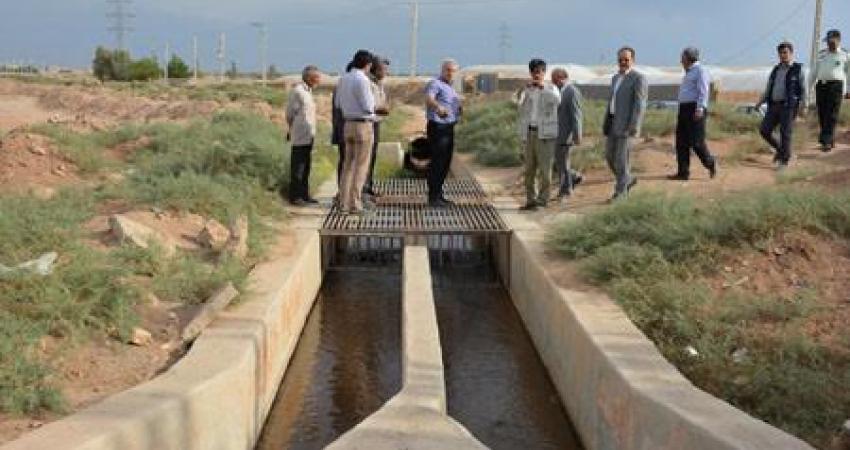 بازدید نماینده یونسکو از مسیرهای قنات حسن آباد مهریز