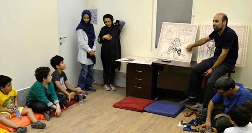 کودکان دوستدار موزه از موزه ملی ملک بازدید کردند