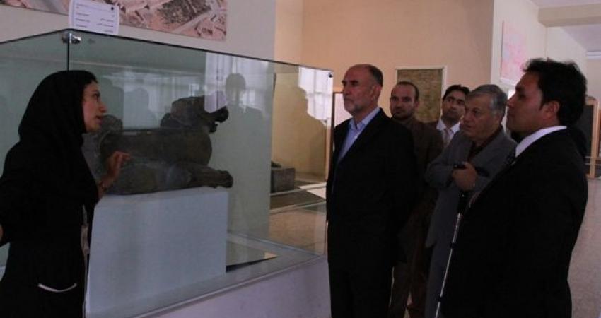 موزه ملی ایران الگوی موزه داران افغانستان