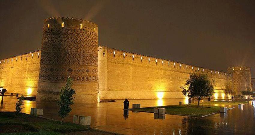 ارگ کریم خانی شیراز جلوه گاه فرهنگ و هنر فارس