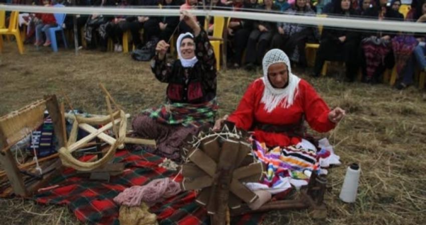 جشنواره چادر شب بافی و شکرگزاری خرمن