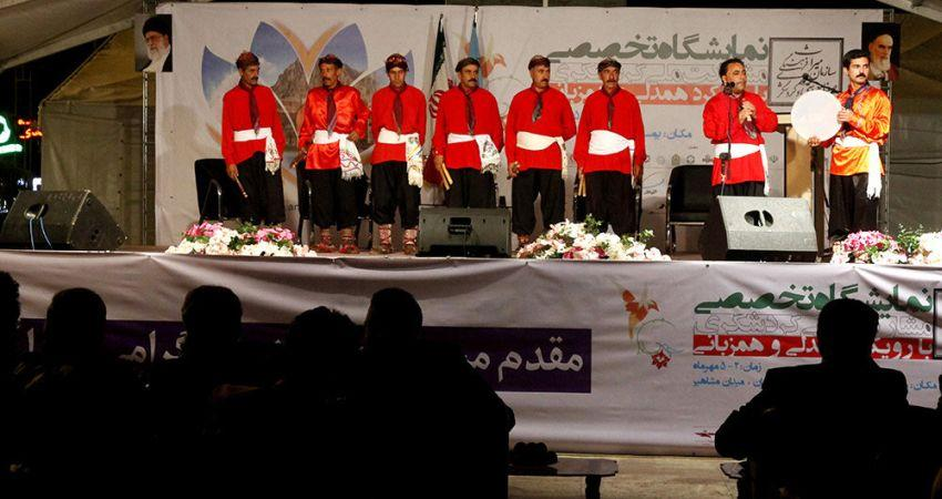 افتتاح نمایشگاه تخصصی مشارکت ملی گردشگری
