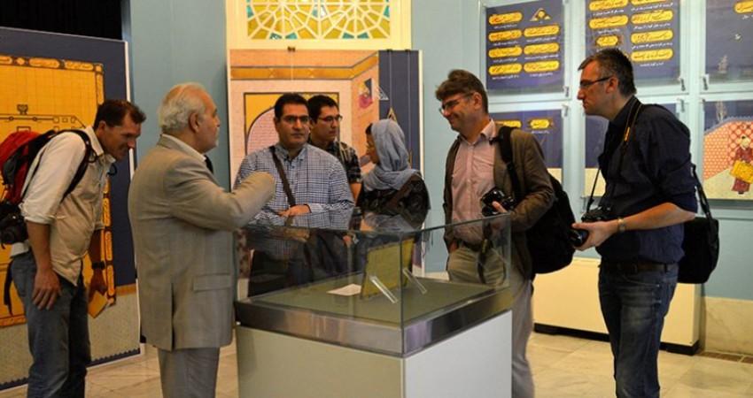 اقبال چشم گیر جهانگردان خارجی به بازدید از موزه ملک
