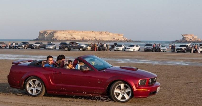 ورود هر گونه خودرو به جزیره هنگام ممنوع می شود