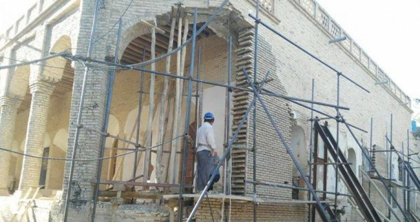 مرمت موزه رامهرمز با اعمال شاقه