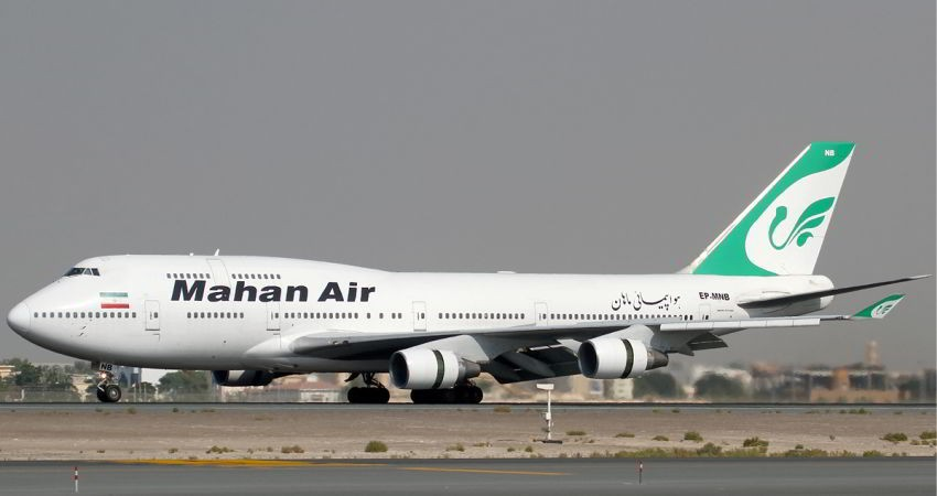 فرود اضطراری بوئینگ 747 در مهرآباد