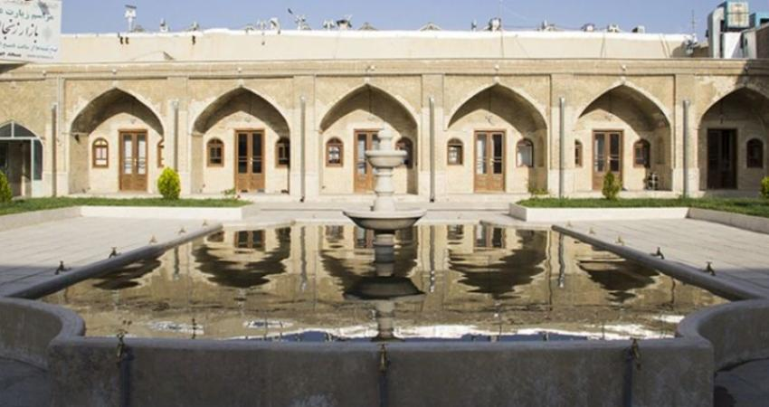 مسجد چهلستون زنجان مرمت شد