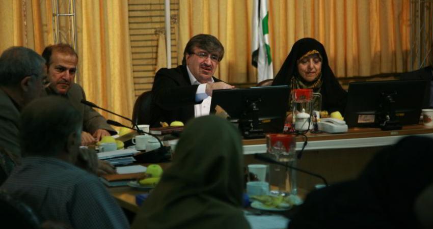 دوازدهمین جلسه شورای محیط زیست برنامه ششم توسعه برگزار شد