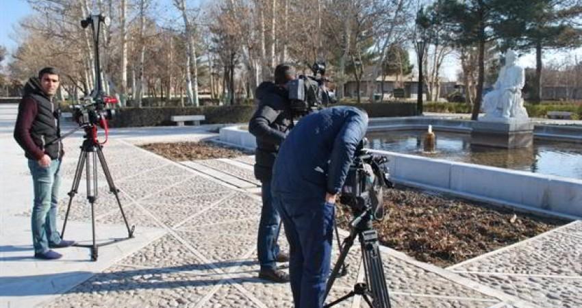 مستندسازی آرامگاه فردوسی از سوی هیات رسانه ای جمهوری آذربایجان