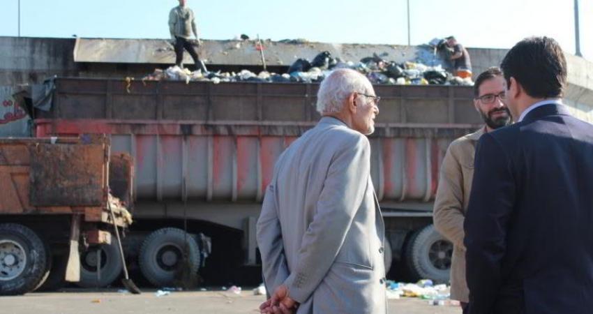بازدید پدر علم زباله ایران از فعالیت های سازمان پسماند ساری