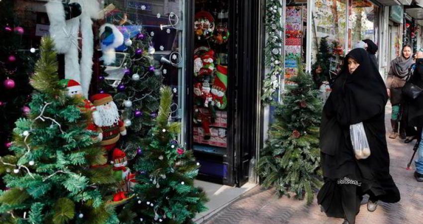 کریسمس در ایران عطر سنبل، بوی کاج