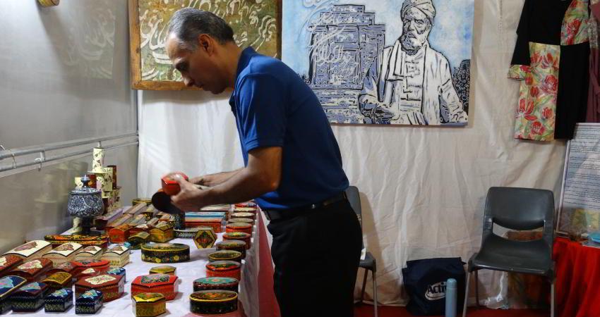 نمایشگاه صنایع دستی در مشهد برپا شد