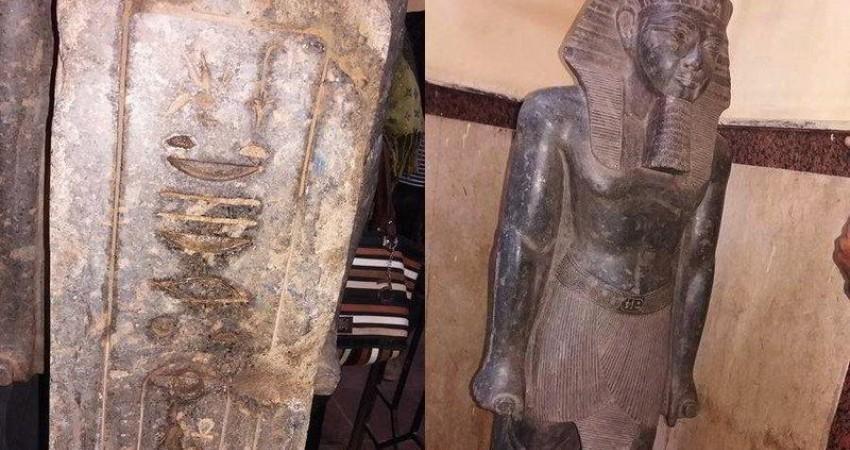 کشف مجسمه آمن هوتب سوم در خانه یک قاچاقچی