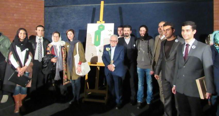 آیین اهدای تندیس سرو ایرانی برگزار شد