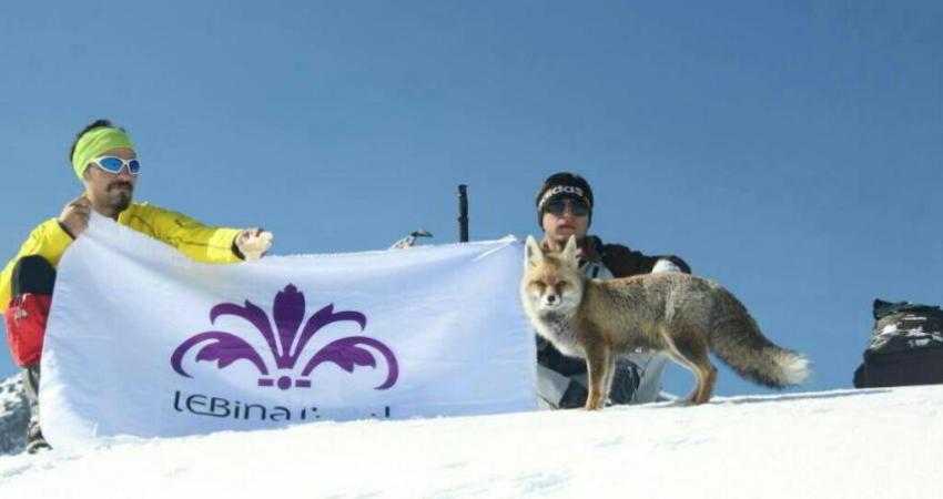 صعود ویژه به سبلان: سه کوهنورد و یک روباه