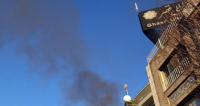 آتش سوزی هتل قصر مشهد مهار شد