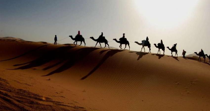 گردشگران انگلیسی در راه ایران