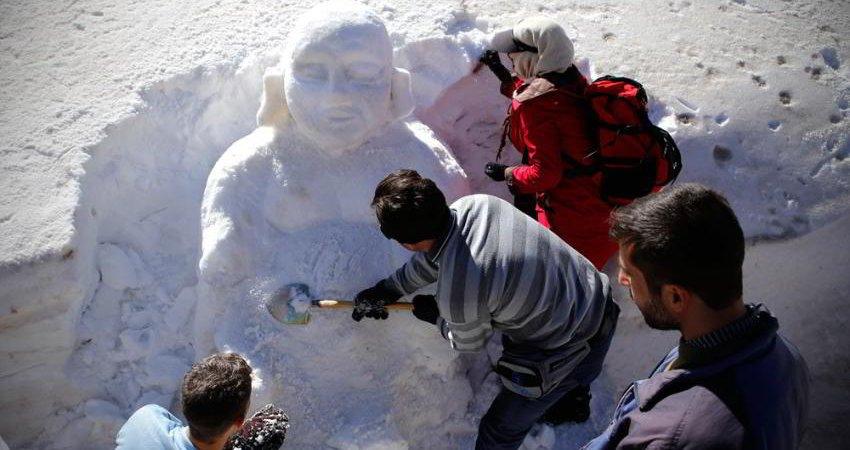 جشنواره کشوری تندیس یخی و آدم برفی در سرعین برگزار می شود