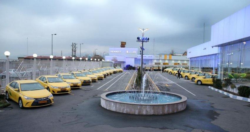 ورود تاکسی های هیبریدی به تهران