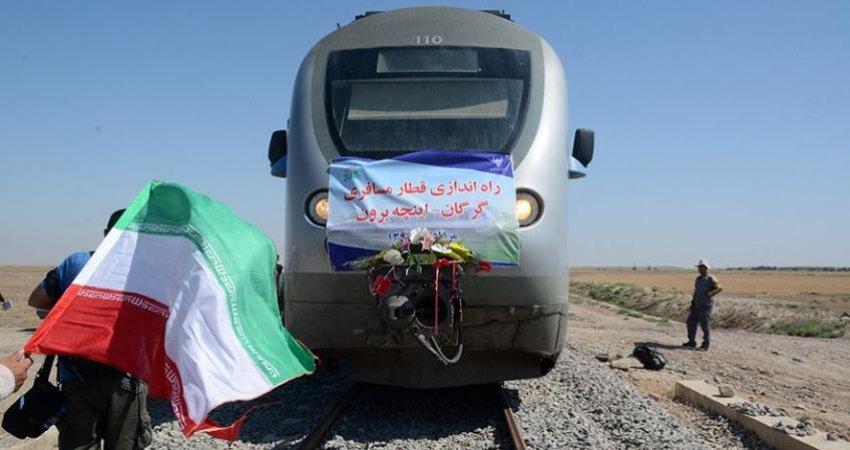 قطار مسافری گرگان - اینچه برون راه اندازی می شود