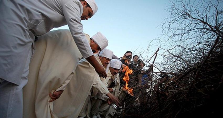 برگزاری آیین جشن سده زرتشتیان در کرمان