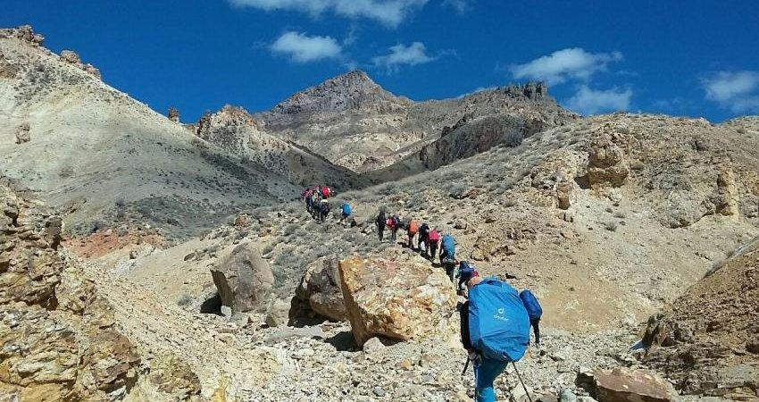 صعود سراسری کوهنوردان کشور به قله تفتان