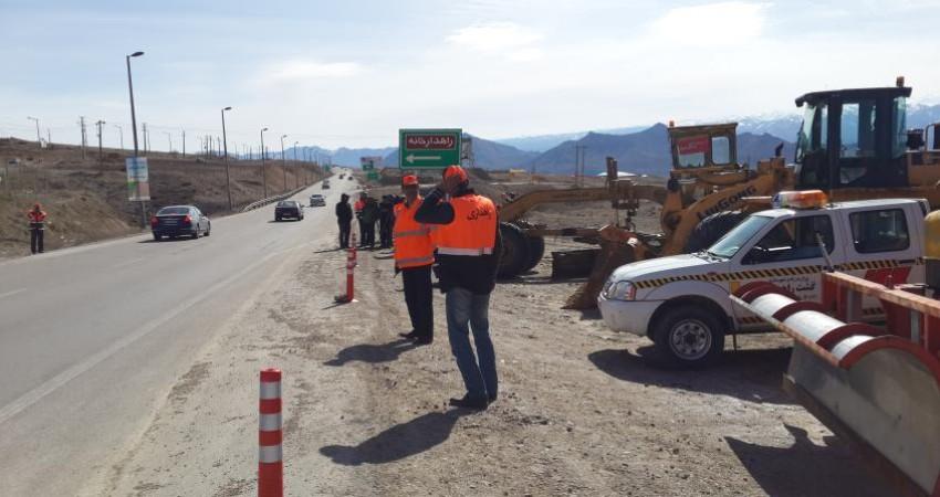 جاده قائمشهر - فیروزکوه بسته شد